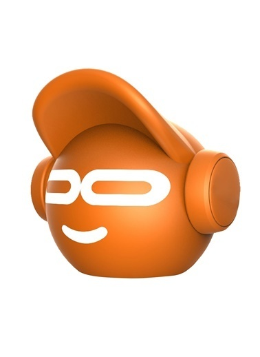 iDance Beat Dude Mini Turuncu Bluetooth Hoparlör Oranj